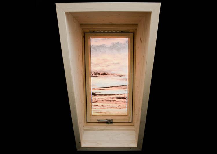 Montaggio imbotti semi prefabbricate per finestre da tetto - Imbotti in alluminio per finestre ...